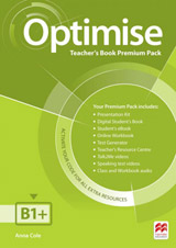 Optimise B1+ (Intermediate) Teacher´s Book Premium Pack