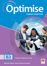 Optimise B2 (Upper Intermediate) Student´s Book Pack