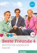 Beste Freunde 4 (A2/2) Arbeitsbuch mit CD-ROM CZ