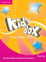 Kid´s Box updated Second edition Starter Class Audio CD