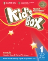 Kid´s Box updated second edition 1 Activity Book with Online Resources