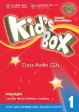 Kid´s Box updated second edition 1 Class Audio CD
