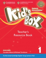 Kid´s Box updated second edition 1 Teacher´s Resource Book with Audio Download