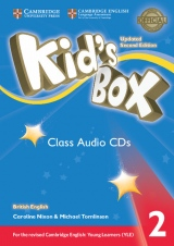 Kid´s Box updated second edition 2 Class Audio CD