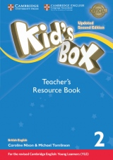 Kid´s Box updated second edition 2 Teacher´s Resource Book with Audio Download