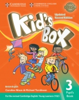 Kid´s Box updated second edition 3 Pupil´s Book