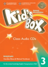 Kid´s Box updated second edition 3 Class Audio CD