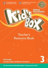 Kid´s Box updated second edition 3 Teacher´s Resource Book with Audio Download