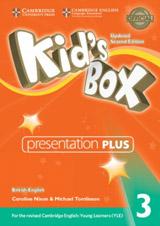 Kid´s Box updated second edition 3 Presentation Plus DVD-ROM