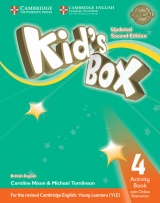 Kid´s Box updated second edition 4 Activity Book with Online Resources