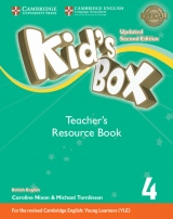 Kid´s Box updated second edition 4 Teacher´s Resource Book with Audio Download