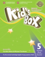 Kid´s Box updated second edition 5 Activity Book with Online Resources