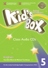 Kid´s Box updated second edition 5 Class Audio CD