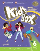Kid´s Box updated second edition 6 Pupil´s Book