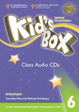 Kid´s Box updated second edition 6 Class Audio CD
