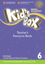 Kid´s Box updated second edition 6 Teacher´s Resource Book with Audio Download