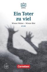 Lextra: DaF-Krimi A1-A2 Ein Toter zu viel (MP3 volnì ke stažení)