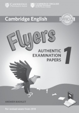 Cambridge English Young Learners 1 for revised exam from 2018 Flyers Answer Booklet
