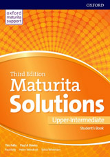 Maturita Solutions 3rd Edition Upper-intermediate Student´s Book with MultiROM Czech Edition