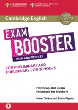 Cambridge English Exam Booster for PET and PET for Schools with Answer Key with downloadable Audio