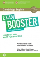 Cambridge English Exam Booster for First and First for Schools with Answer Key with downloadable Audio