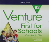 Venture into First for Schools Class Audio CDs (x3)