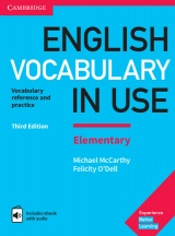 English Vocabulary in Use Elementary with Answers and Enhanced ebook, 3. edice