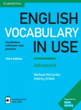 English Vocabulary in Use Advanced with answers and Enhanced ebook, 3. edice