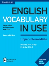 English Vocabulary in Use Upper-intermediate with answers and Enhanced ebook, 4. edice