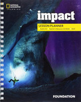 Impact Foundation Lesson Planner + Audio CD + TRCD + DVD