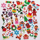 Vánoèní pìnové samolepky (120 kusù) - AV485