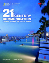 21st Century Communication: Listening, Speaking and Critical Thinking Student Book 1 + Access Code