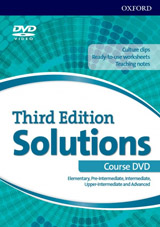 Solutions 3rd Edition Elementary - Advanced (All Levels) DVD