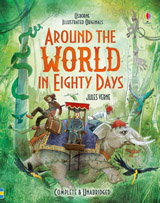 Illustrated originals Around the world in eighty days