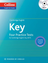 Cambridge English: Key (KET) Four Practice Tests with MP3 Audio CD