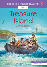 Usborne English Readers 3 Treasure Island