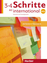 Schritte international Neu 3+4 Intensivtrainer