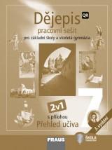 Dìjepis 7 pro ZŠ a VG pracovní sešit (nové vydání)