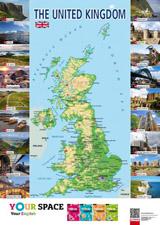 Mapa The United Kingdom