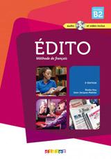 Édito Niveau B2 uèebnice + CD Mp3 + DVD