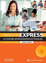 Objectif Express 2 uèebnice + DVD Nouvelle édition