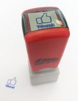 Samobarvící razítko palec nahoru - Výbornì!