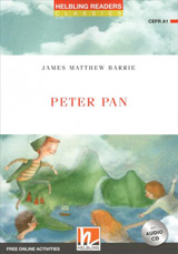 HELBLING READERS Red Series Level 1 Peter Pan + Audio CD (James Matthew Barrie)