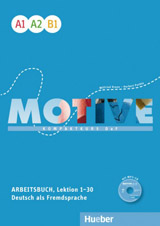Motive A1 - B1 Arbeitsbuch, L. 1-30 mit MP3-Audio-CD