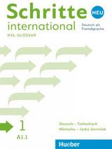 Schritte international Neu 1 Glossar XXL Deutsch-Tschechisch