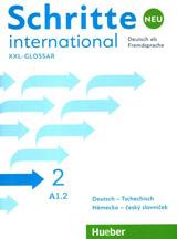 Schritte international Neu 2 Glossar XXL Deutsch-Tschechisch