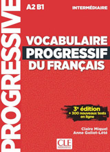 VOCABULAIRE PROGRESSIVE DU FRANCAIS: NIVEAU INTERMEDIAIRE 3. edice+CD+Appli-web