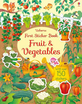 First sticker books Fruit and vegetables