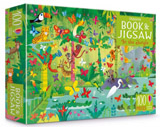 Usborne jigsaw with a picture book In the jungle