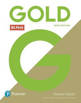 Gold First (New 2018 Edition) Teacher´s Book with DVD-ROM